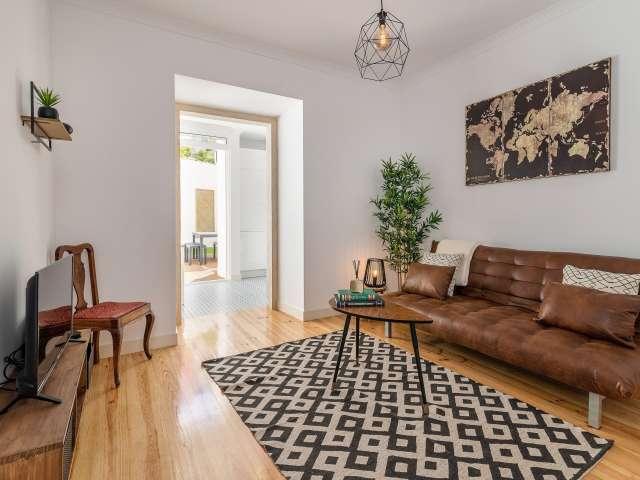 Modern 1-bedroom apartment for rent in Alcântara, Lisbon