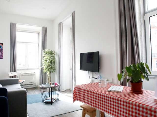 Bright 1-bedroom apartment for rent in Alcântara, Lisbon