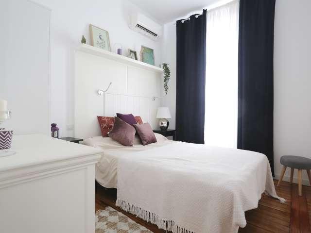 Schöne 2-Zimmer-Wohnung zur Miete in Malasaña, Madrid