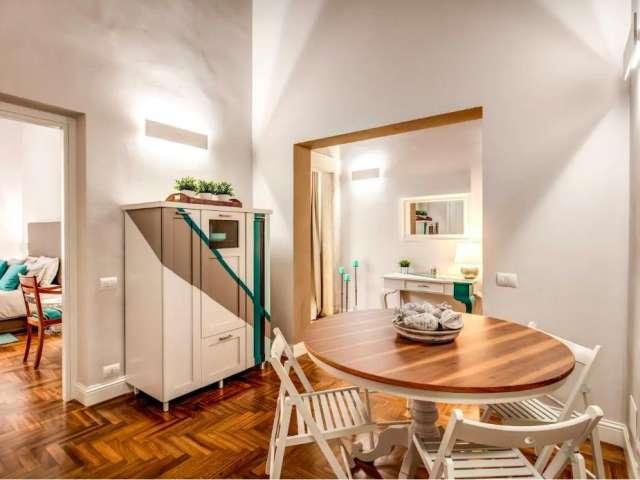 Appartamento con 1 camera in affitto a Trastevere, Roma