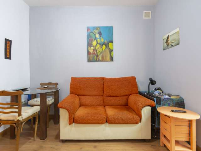 Classy studio apartment for rent in Tetuán, Madrid