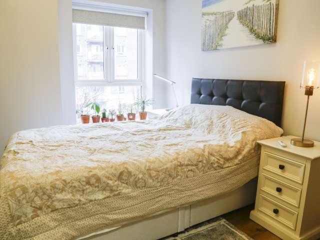 Accogliente camera in affitto in appartamento con 2 camere da letto a Ballsbridge