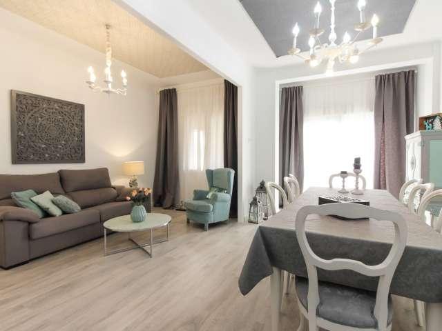 Stilvolle 3-Zimmer-Wohnung zur Miete in Les Corts, Barcelona