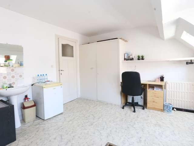 Private room in 2-bedroom apartment in Forest, Brussels