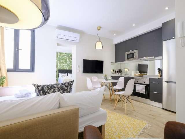 Helle 1-Zimmer-Wohnung zu vermieten in La Latina, Madrid