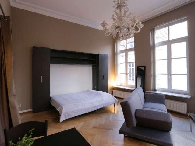 Studio ensoleillé à louer dans le centre-ville de Bruxelles