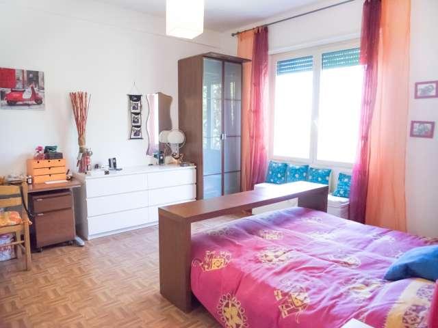 Camera confortevole in appartamento a Pigneto, Roma