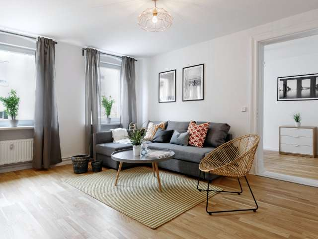 Pleasant 2-bedroom apartment for rent in Mobait, Berlin
