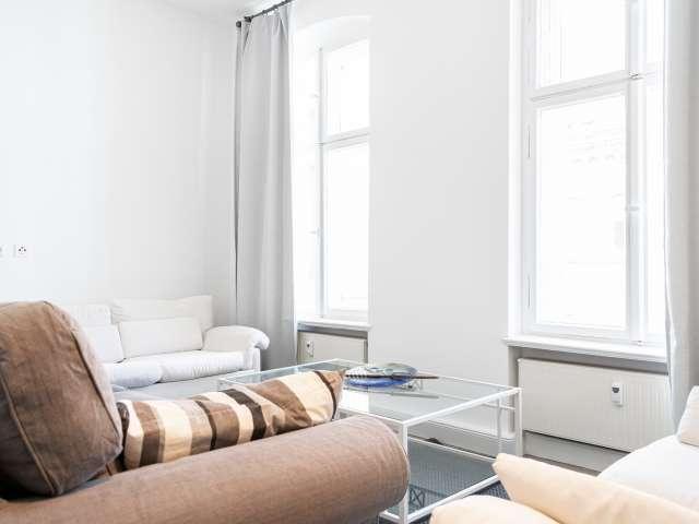Stilvolle Wohnung mit 1 Schlafzimmer zu vermieten, Mitte, Berlin