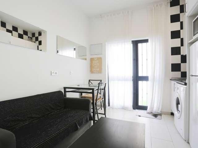 Studio apartment for rent in Usera, Madrid