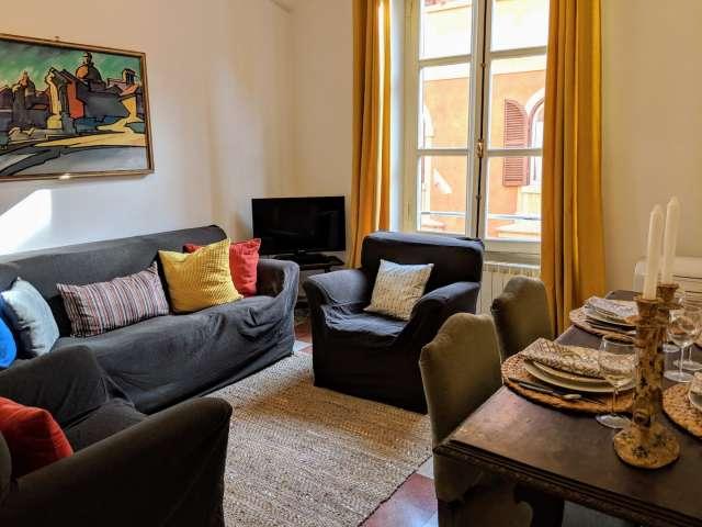 Schöne 1-Zimmer-Wohnung zur Miete in Trastevere, Rom