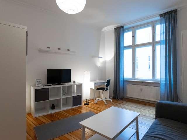 Studio-Apartment zu vermieten in Friedrichshain, Berlin