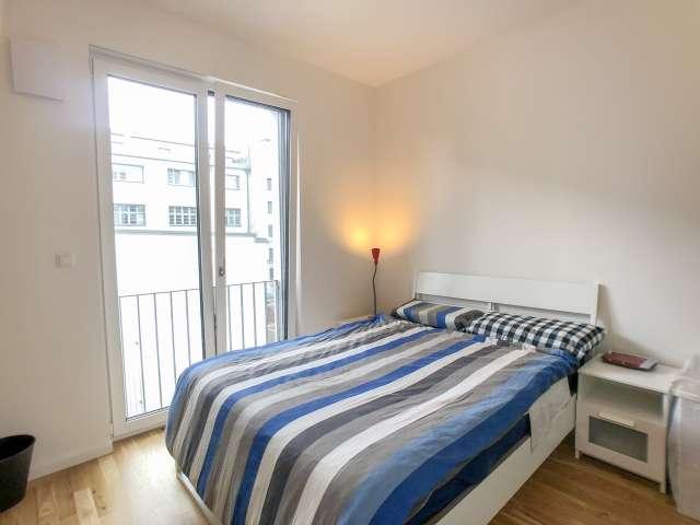 Geräumiges Zimmer zu vermieten, 3-Zimmer-Wohnung, Moabit, Berlin