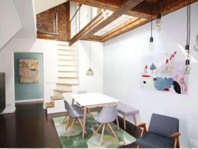 Gut ausgestattete 1-Zimmer-Wohnung in Mitte zu vermieten