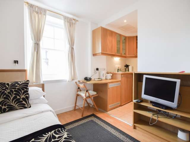 Furnished studio flat to rent in Hammersmith, London