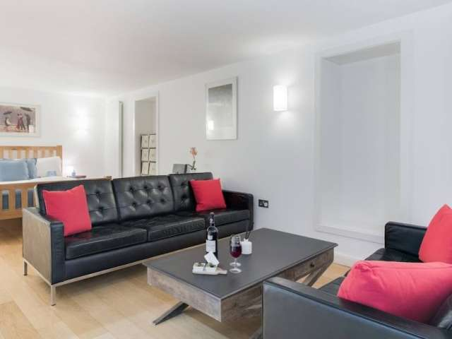 Studio apartment for rent in Parsons Green, London