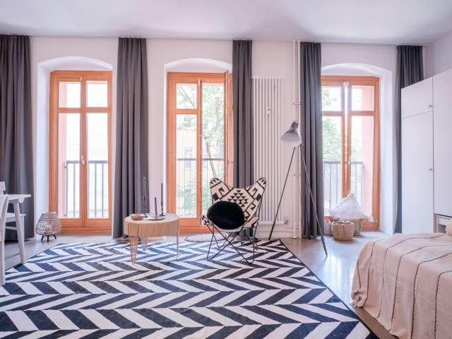 1-Zimmer-Wohnung mit Balkon zu vermieten in Friedrichshain, Berlin