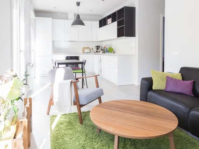 Helle 1-Zimmer-Wohnung zur Miete in Atocha, Madrid