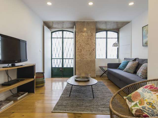 1-bedroom apartment for rent in Lapa, Lisbon