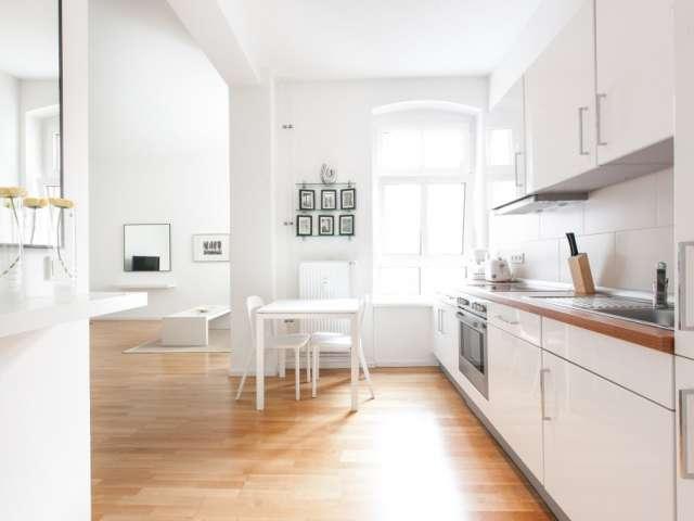 Spacious studio apartment for rent in Kreuzberg, Berlin