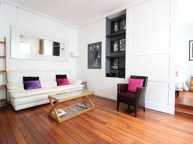 Stylish studio apartment for rent in Centro, Madrid
