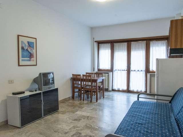 Luminoso appartamento con 1 camera da letto in affitto a Balduina, Roma