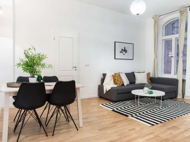 Excellent 1-bedroom apartment for rent in Moabit, Berlin