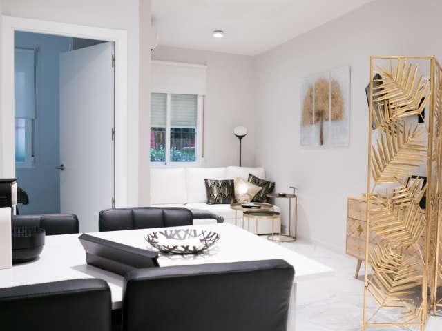 1-Zimmer-Wohnung mit Klimaanlage und Terrasse in Malasaña zu vermieten