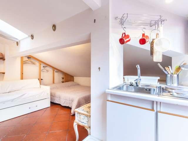 Studio avec terrasse à louer à Piazza Navona