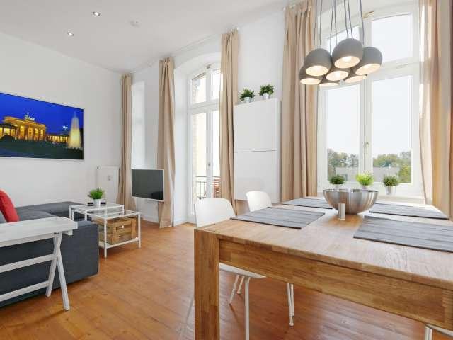 Schickes Apartment mit 2 Schlafzimmern zu vermieten in Mitte, Berlin