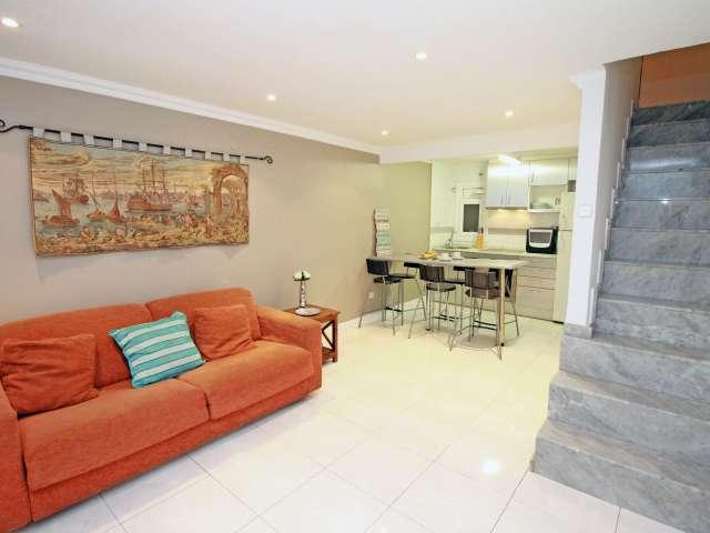 appartamento in affitto in Eixample Esquerra, Barcelona 1 camera da letto