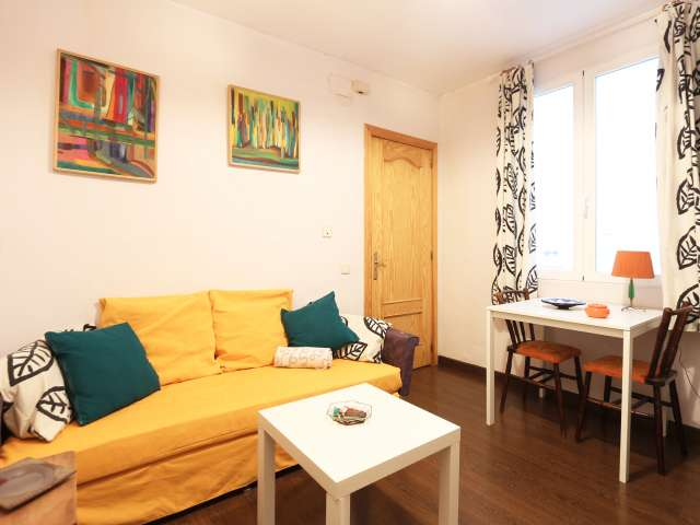 1-bedroom apartment for rent in central Malasaña, Madrid