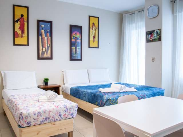 Cosy studio for rent in Loreto, Milan.
