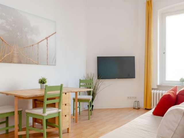 Frische Wohnung mit 1 Schlafzimmer in Kreuzberg, Berlin zu vermieten