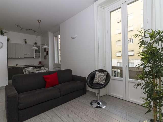 2-bedroom apartment for rent in Porta Venezia, Milan