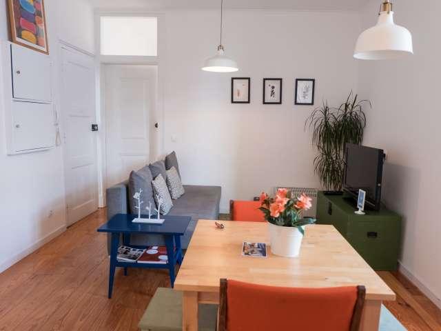 Apartamento de 1 quarto para alugar em Graça e São Vicente, Lisboa