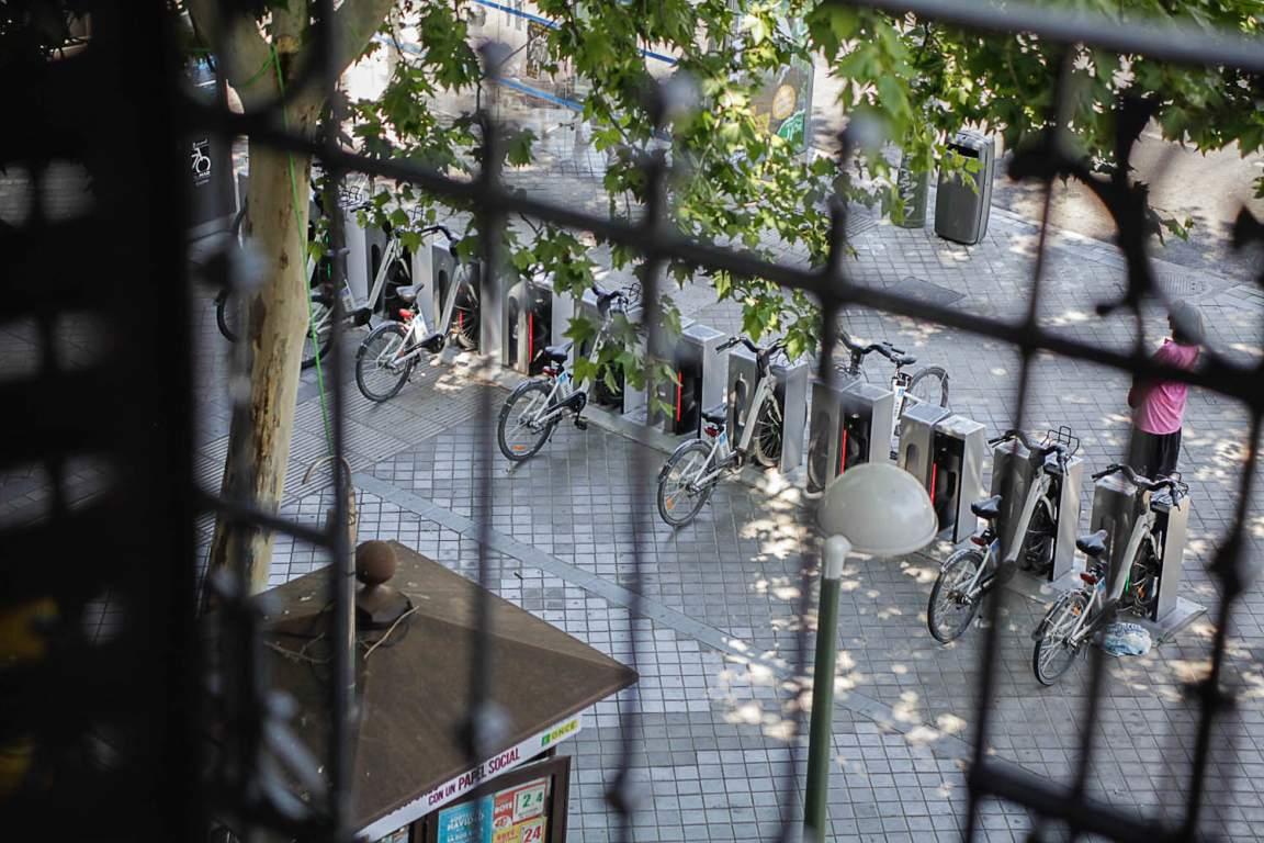 Public bikes view
