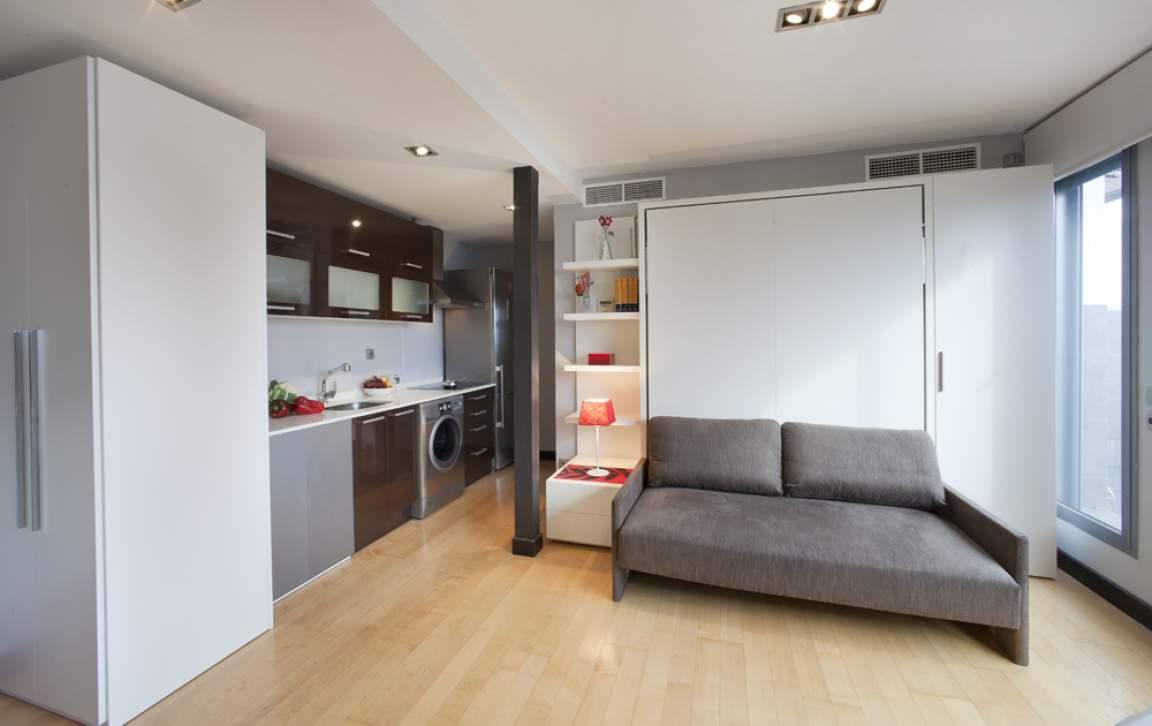 Living area/sleeping area