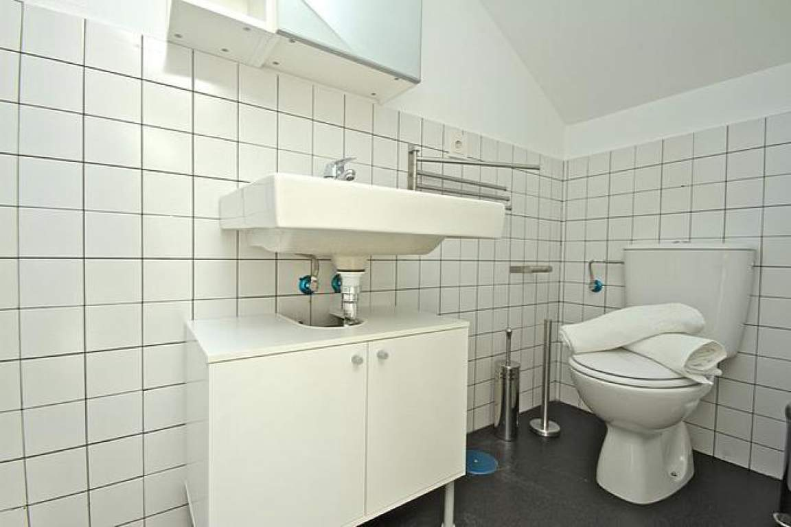 double attic bathroom