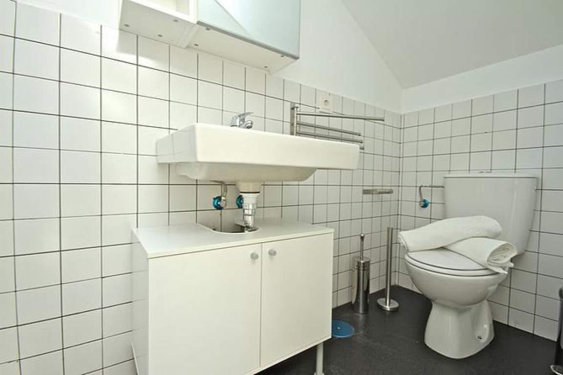 double attic bathroom