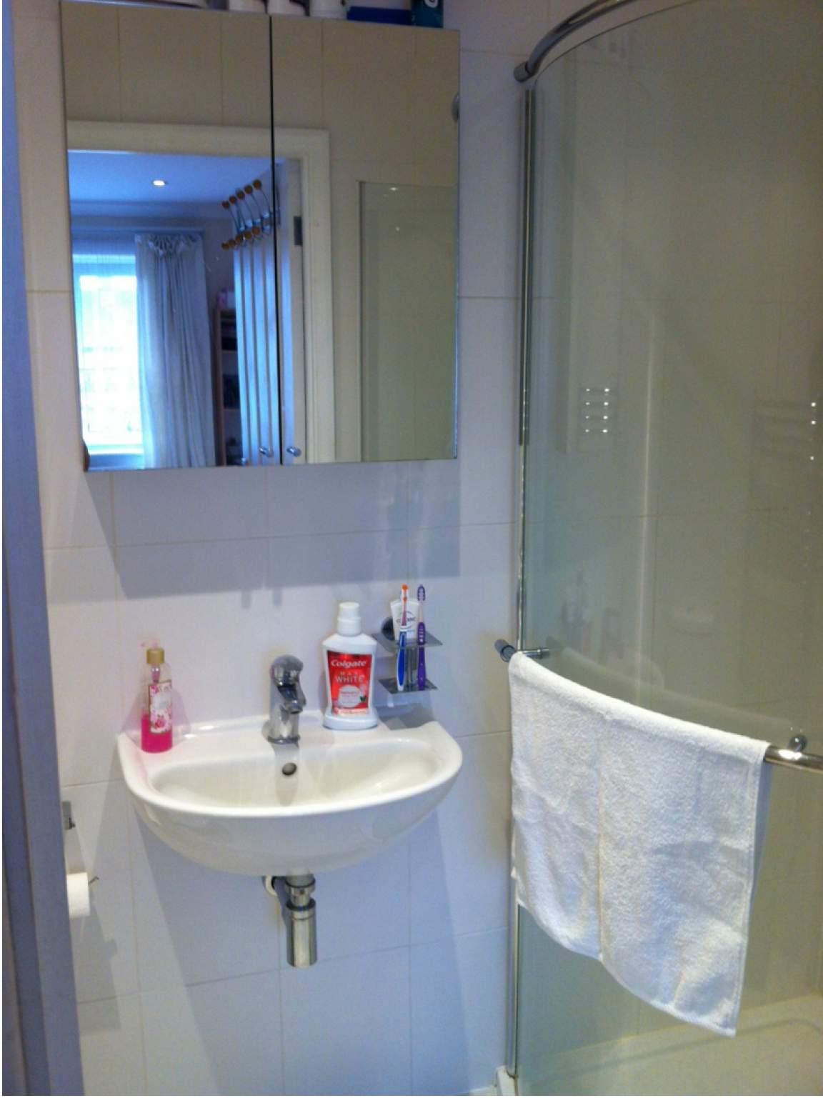 Bedroom 2 en-suite bathroom