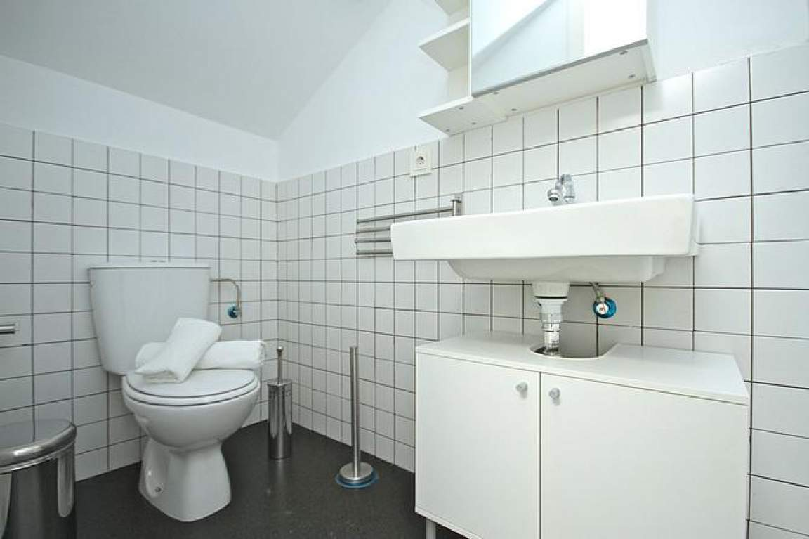 bathroom individual attic
