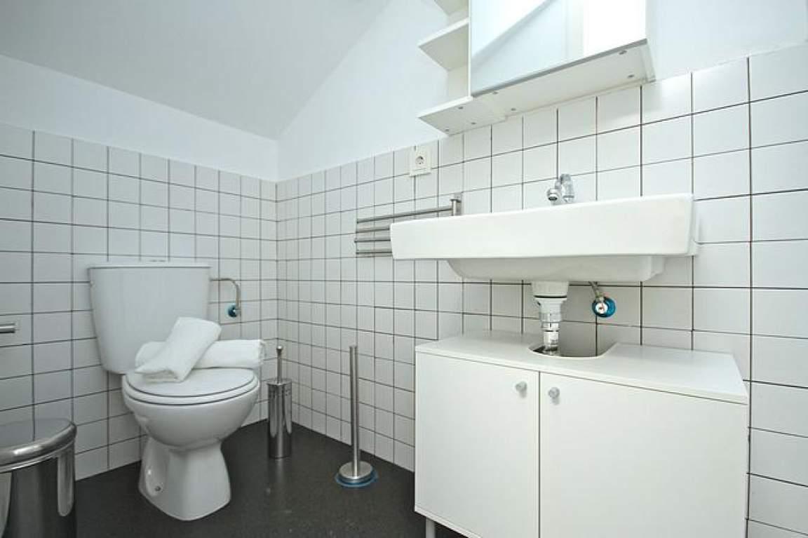 bathroom individual attic