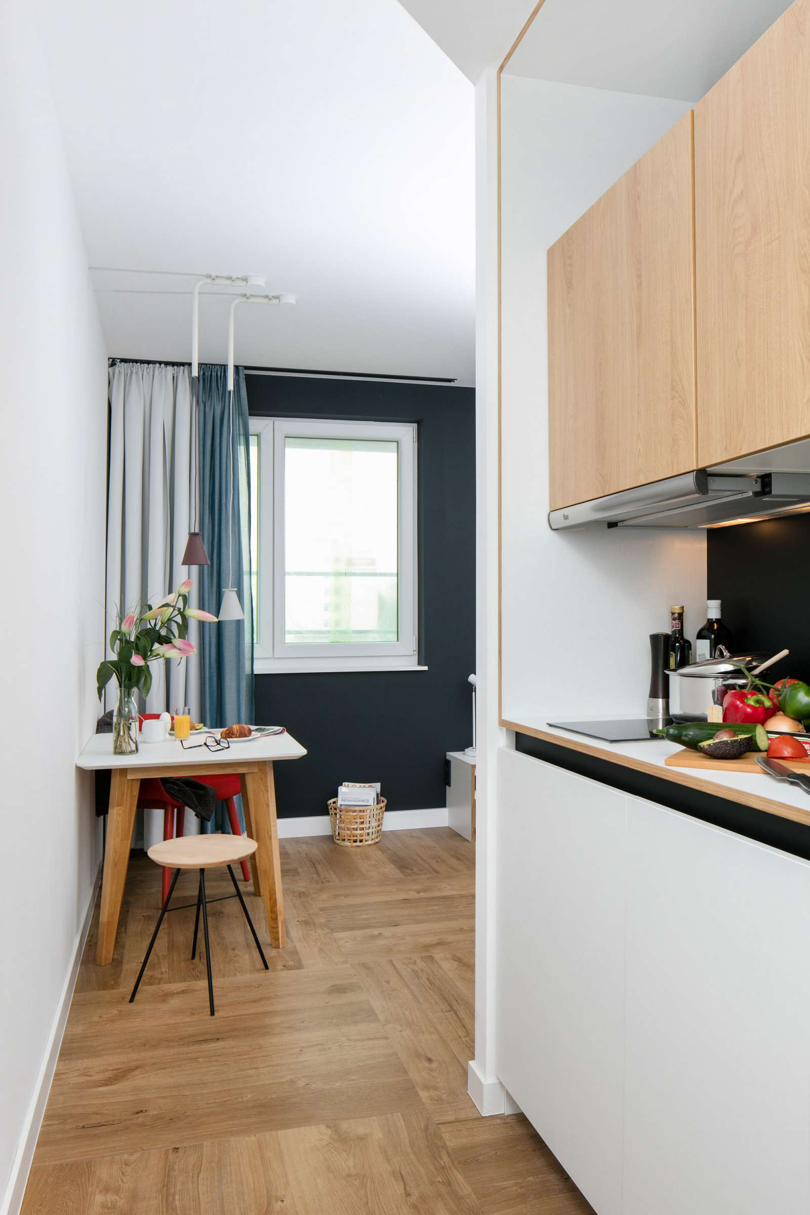 Large studio apartment for rent in favoriten vienna ref for 2 kitchen house for rent