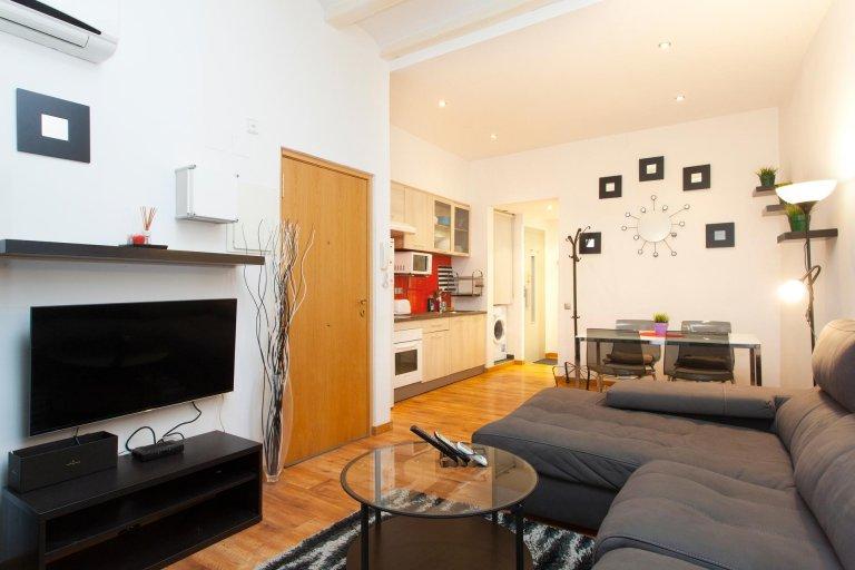 Apartamento de 1 dormitorio en Barcelona
