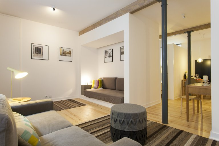 1-Zimmer-Wohnung zur Miete in Baixa-Chiado, Lissabon