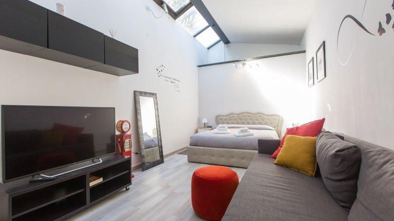 Trastevere, Roma kiralık stüdyo apartman