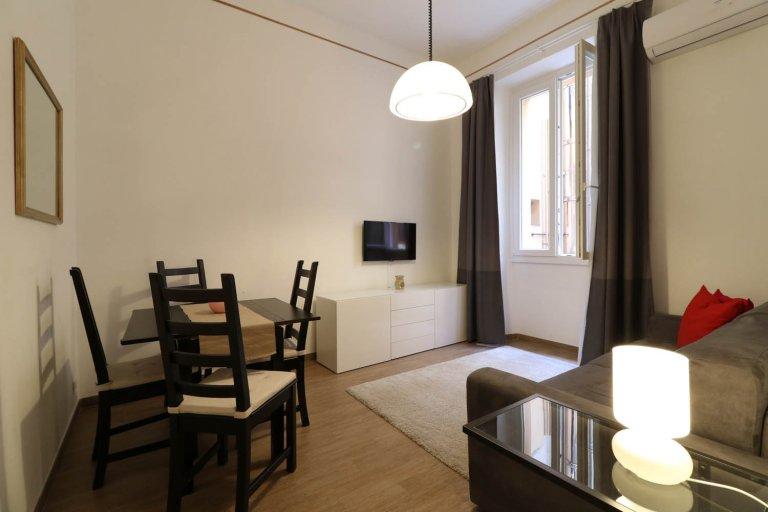 1-bedroom apartment for rent in Trastevere, Rome