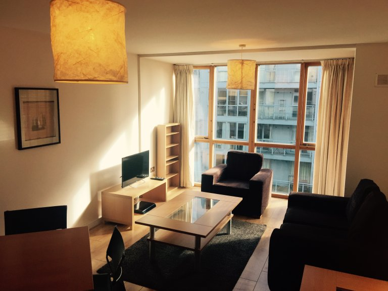 Serviced 1 Schlafzimmer Apartment im Gaswerk, Dublin 4