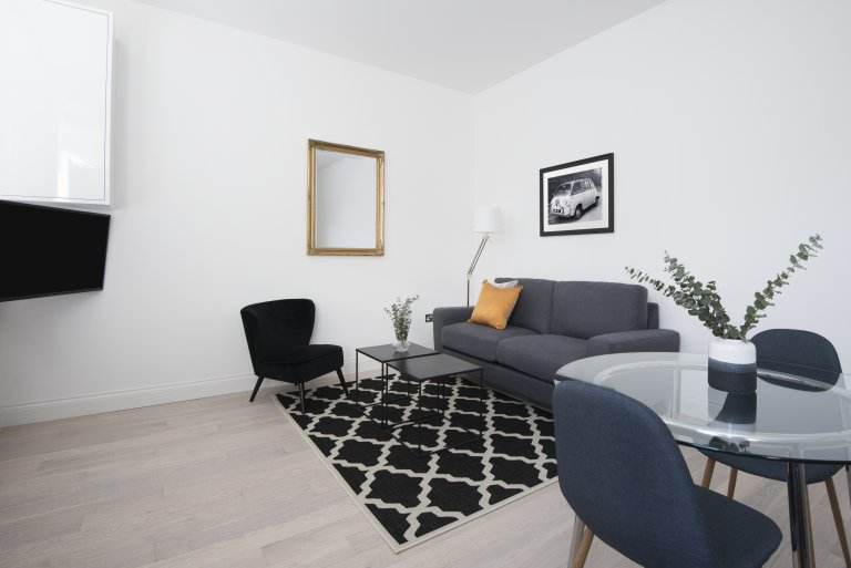 Casual 1-bedroom flat to rent in Kentish Town, London